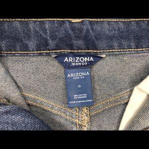 Arizona Jean company denim skirt